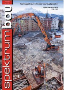 SpektrumBau 04-2018 Cover
