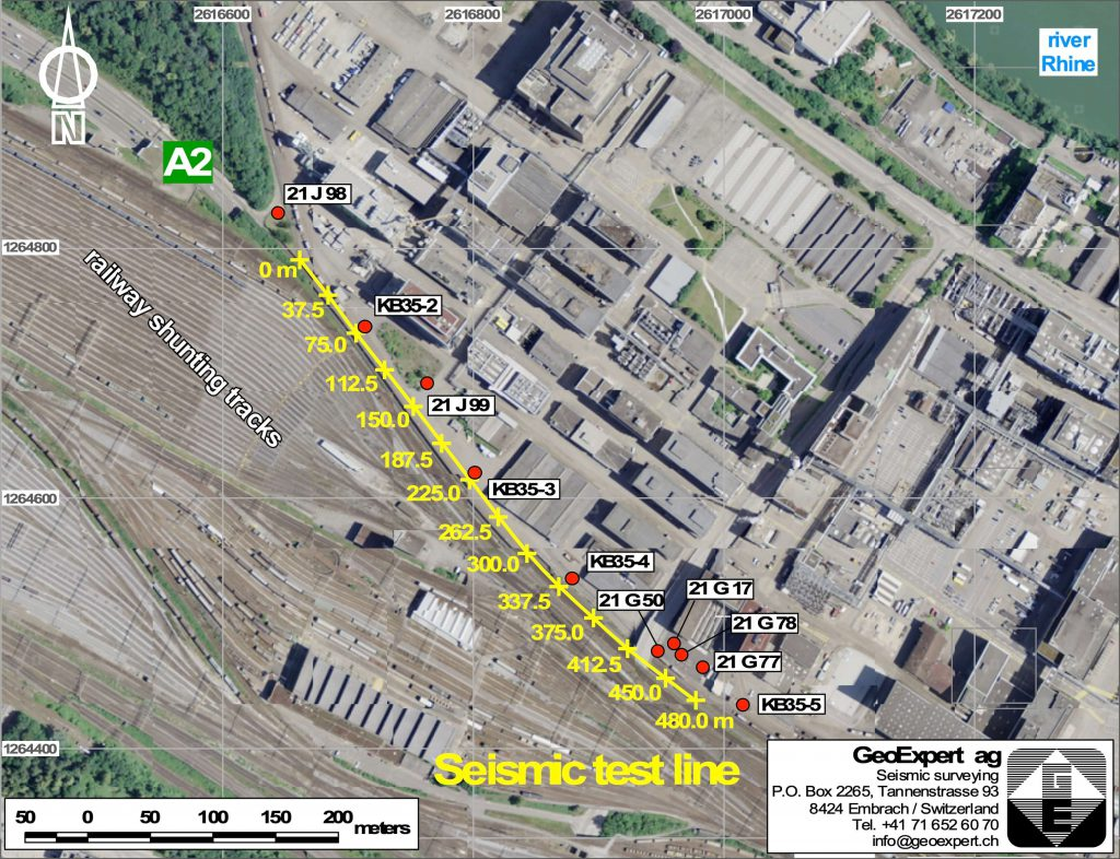 Engineering Geology Example 2 - Situation Plan